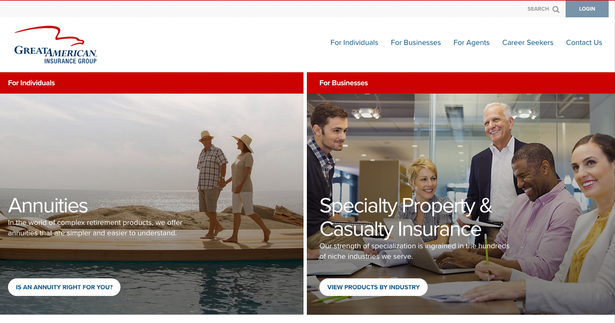 Great American Insurance Group Annuities Specialty Property