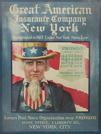 Great American poster featuring Uncle Sam