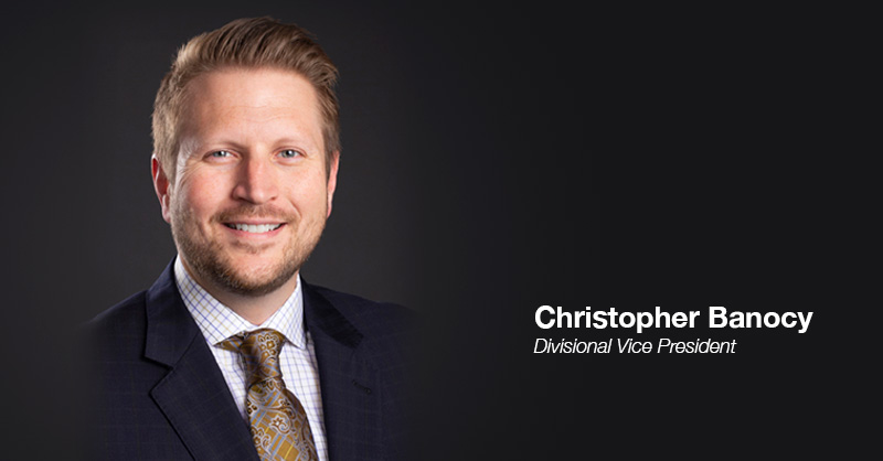 Chris Banocy, Divisional Vice President, Executive Portrait