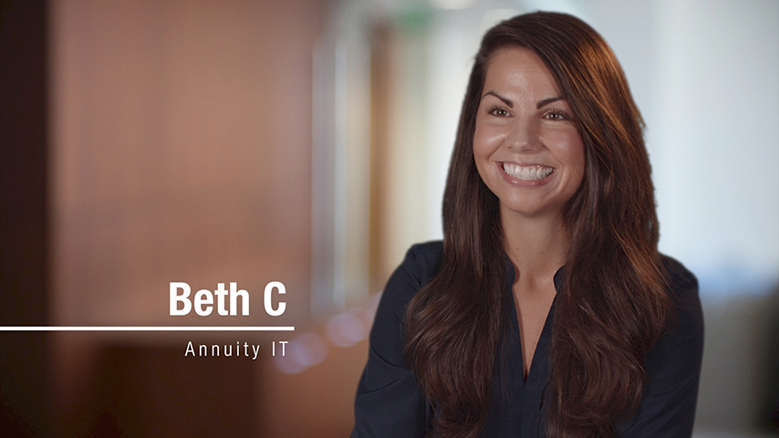 Video intro of  Beth C