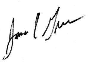 Jim Green Signature