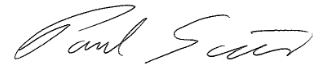 Paul Scian Signature