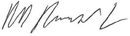 Rick Ringwald Signature