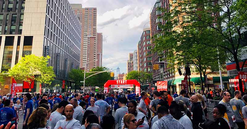 Wall Street Run & Heart Walk—Off to the Races