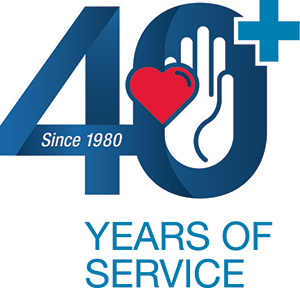 40+ years of service icon